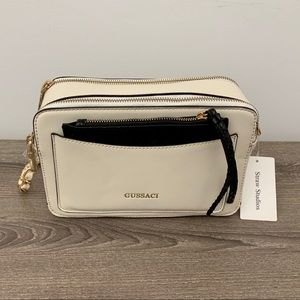 Gussaci Handbag in Cream